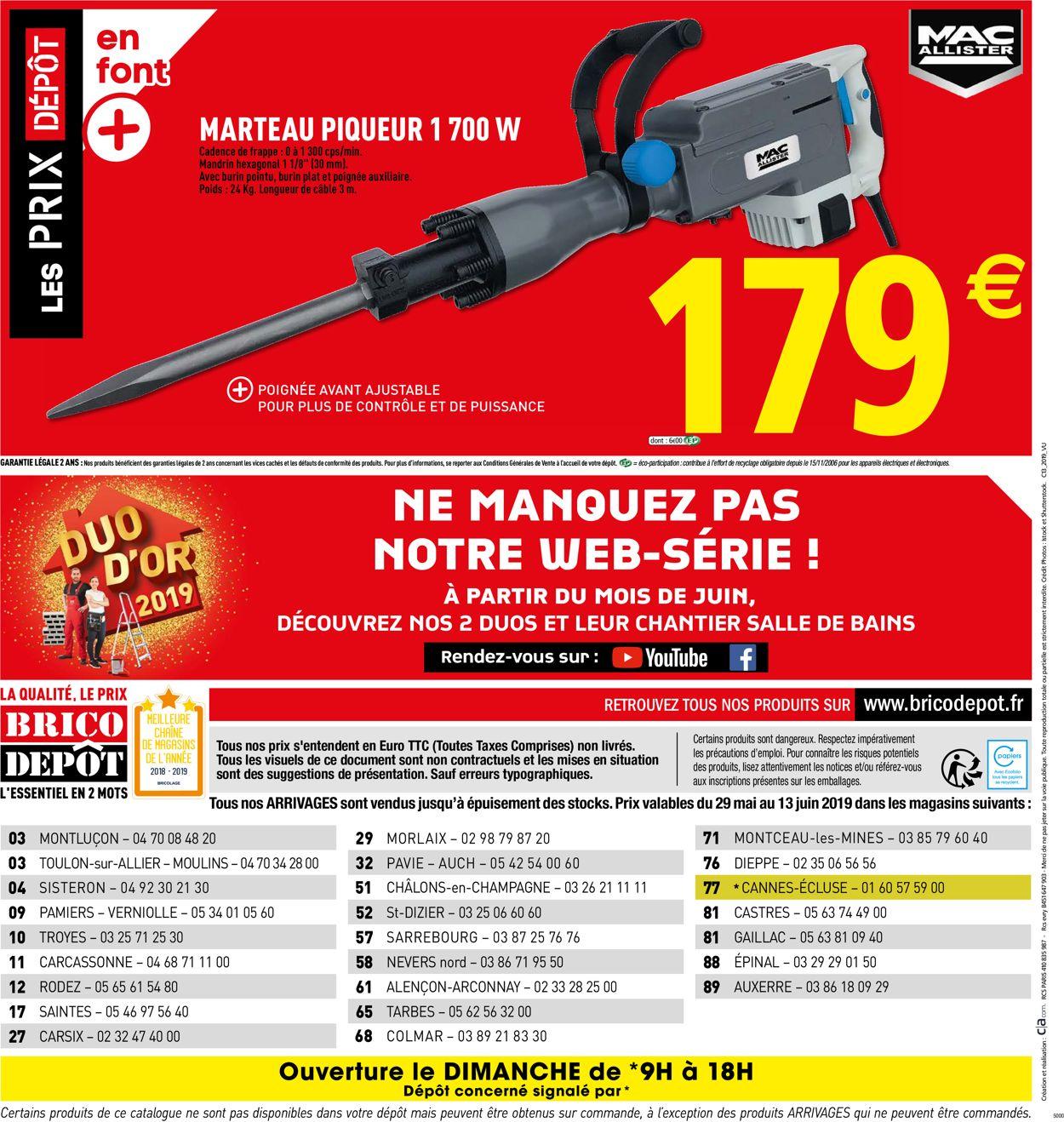 Brico Dépôt Catalogue - 29.05-13.06.2019 (Page 16)