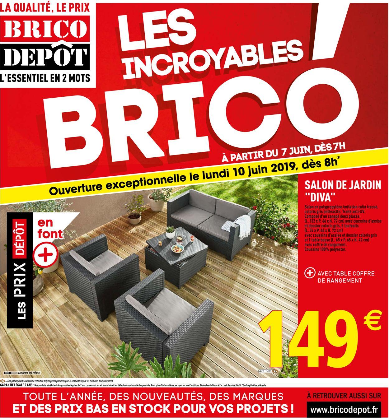 Brico Dépôt Catalogue - 07.06-30.06.2019