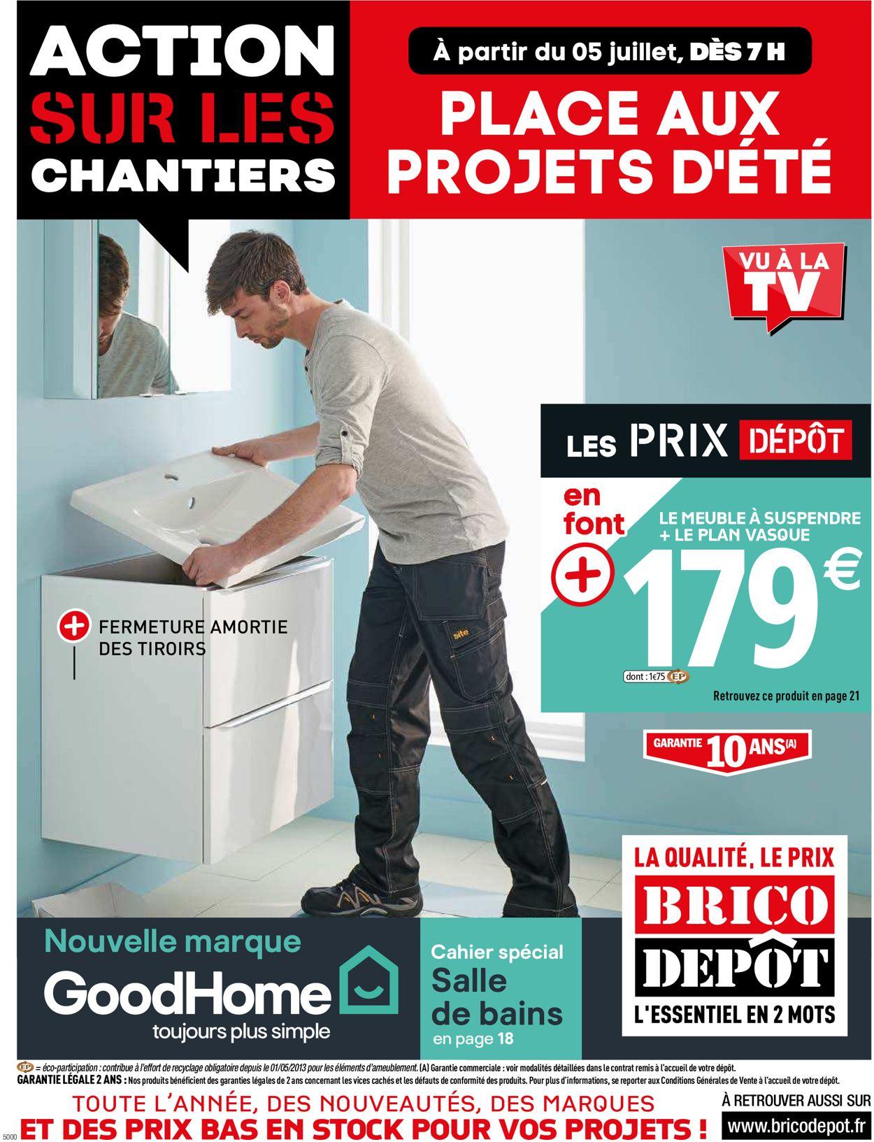 Brico Dépôt Catalogue - 05.07-25.07.2019
