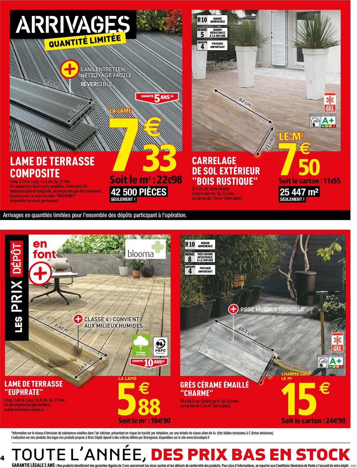 Brico Dépôt Catalogue - 05.07-25.07.2019 (Page 4)