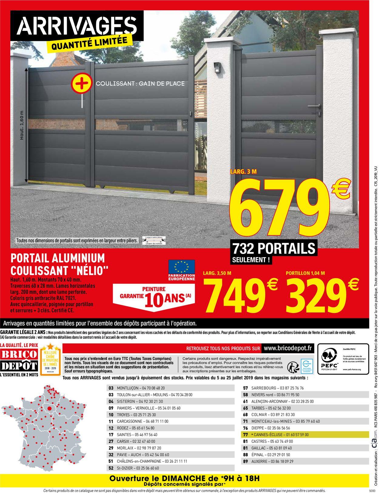 Brico Dépôt Catalogue - 05.07-25.07.2019 (Page 44)