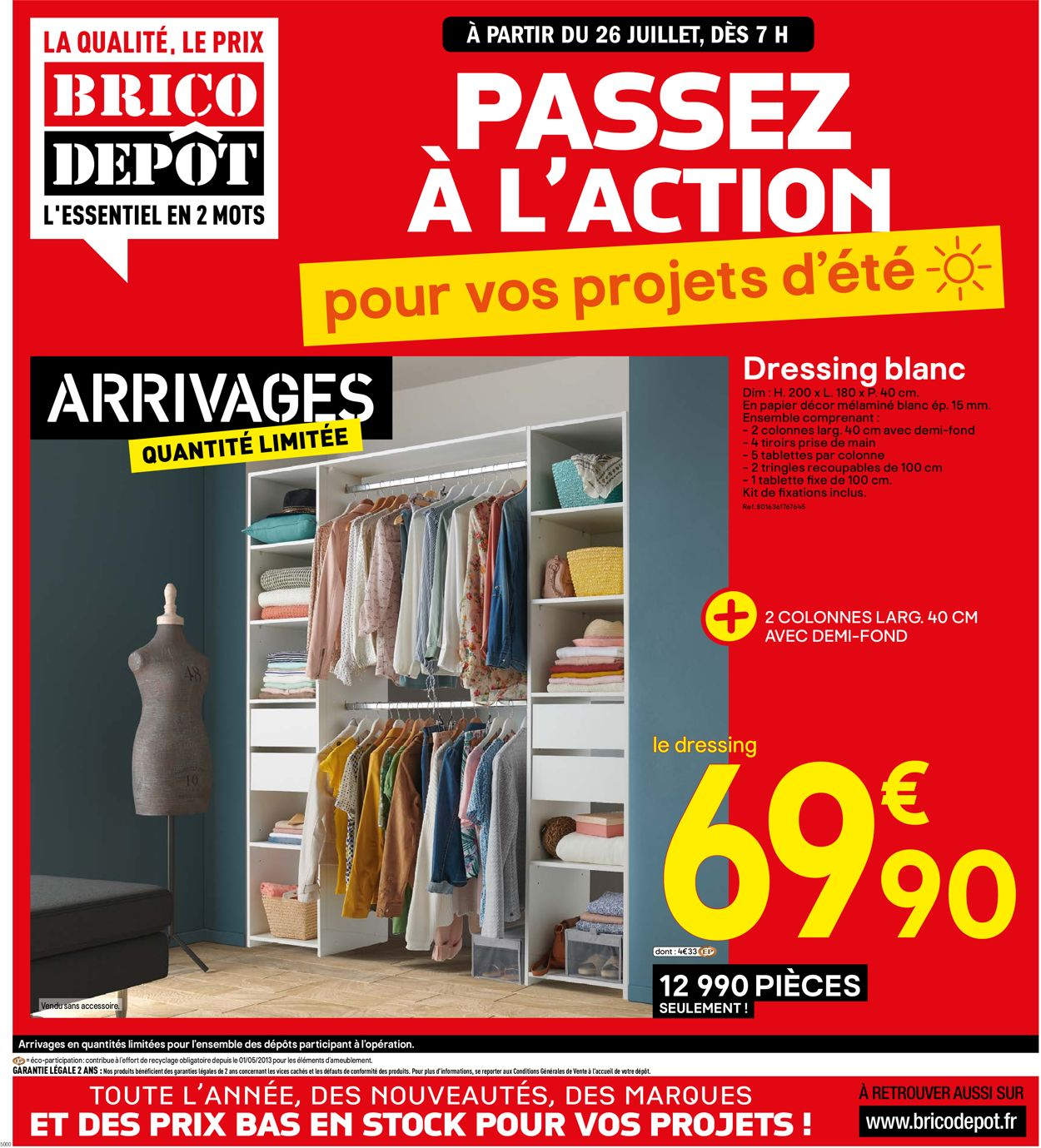 Brico Dépôt Catalogue - 26.07-08.08.2019