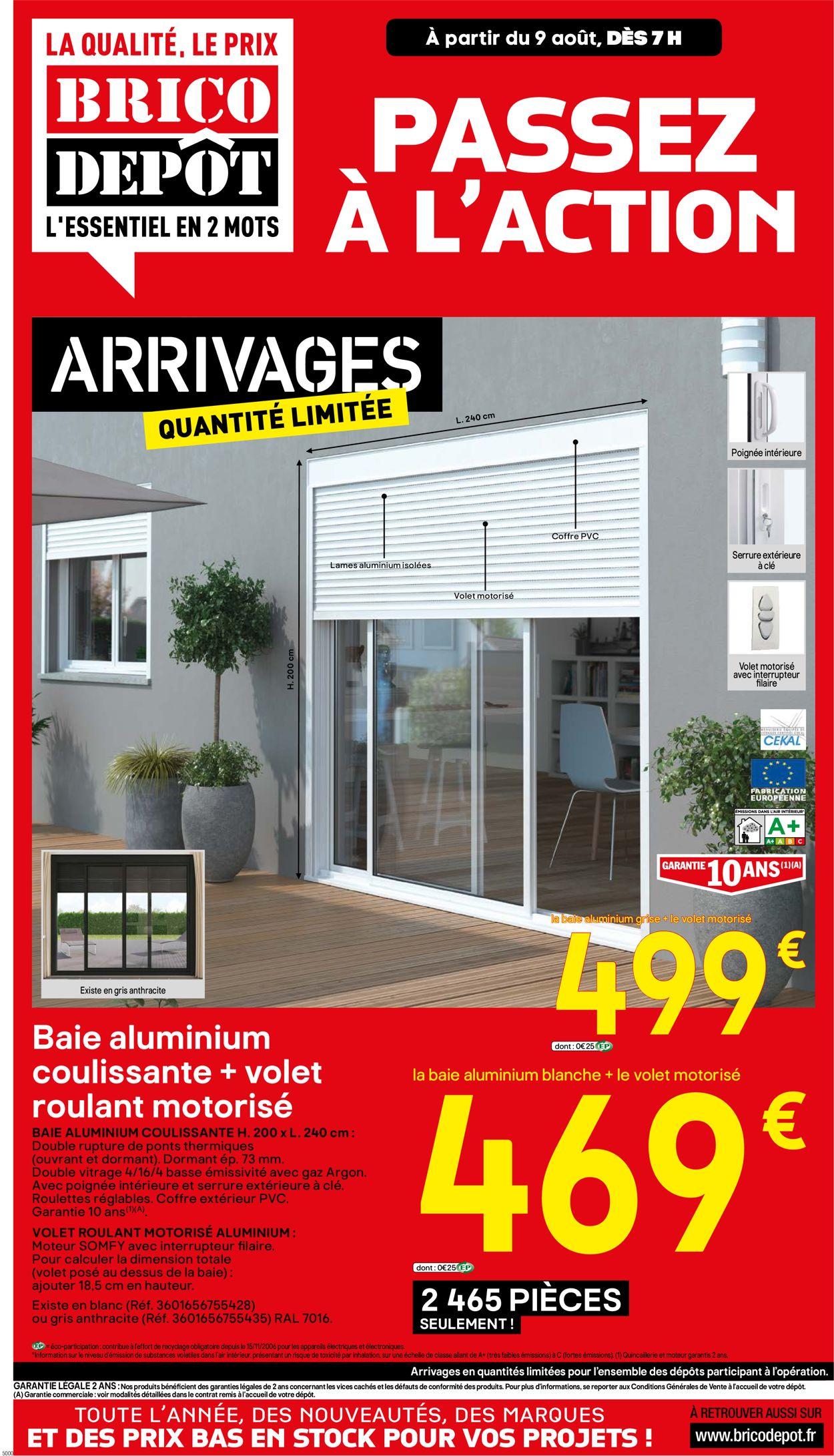 Brico Dépôt Catalogue - 09.08-23.08.2019