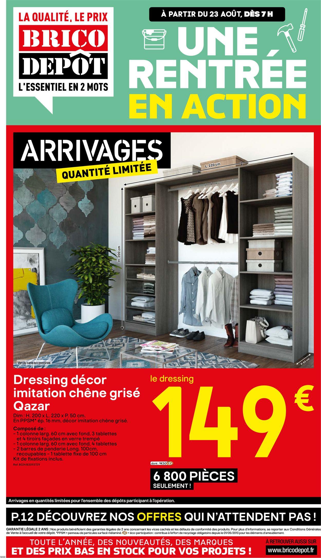 Brico Dépôt Catalogue - 23.08-05.09.2019
