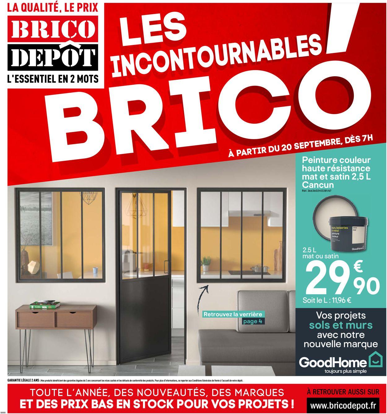 Brico Dépôt Catalogue - 20.09-03.10.2019