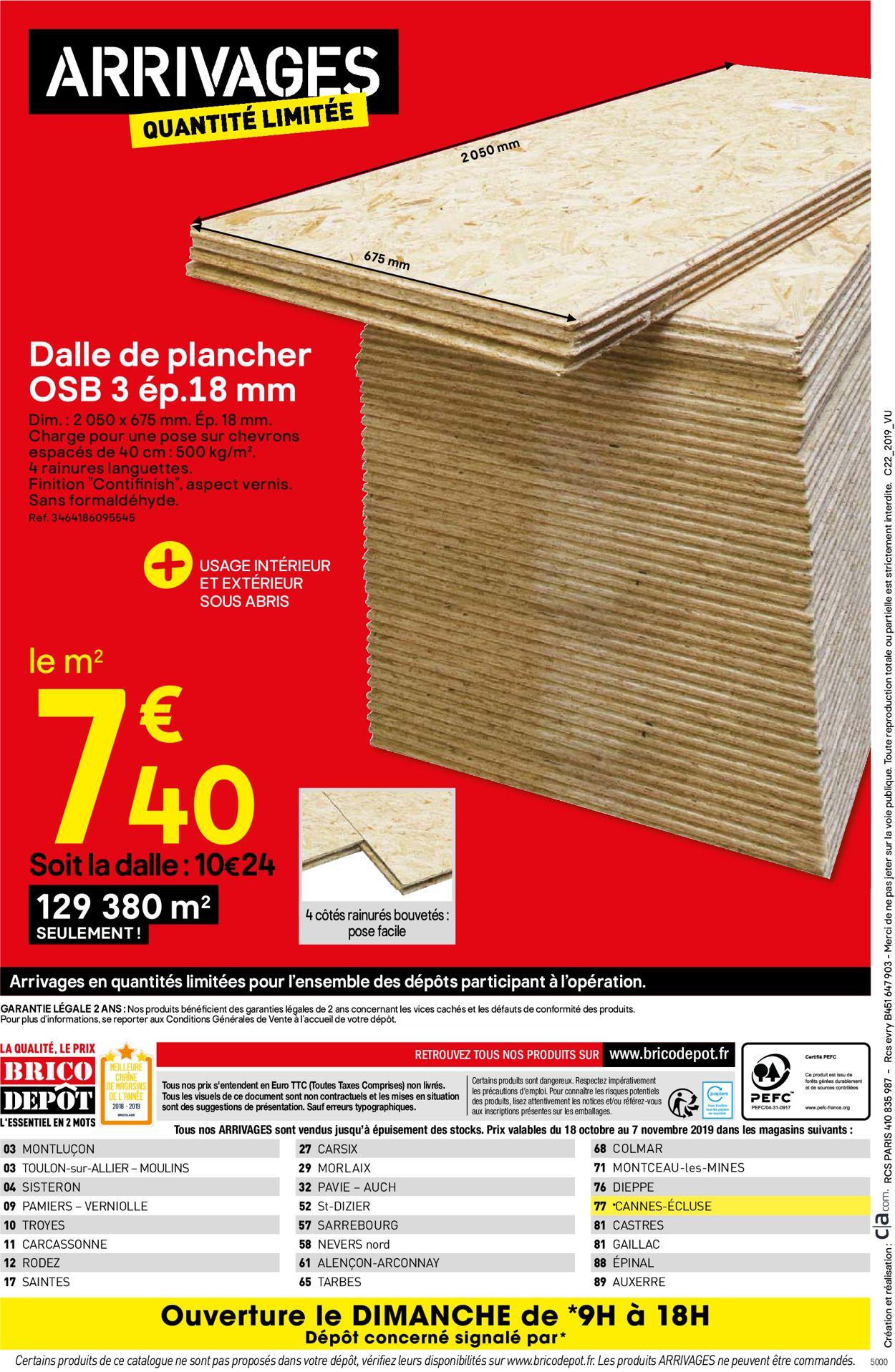 Brico Dépôt Catalogue - 18.10-07.11.2019 (Page 36)