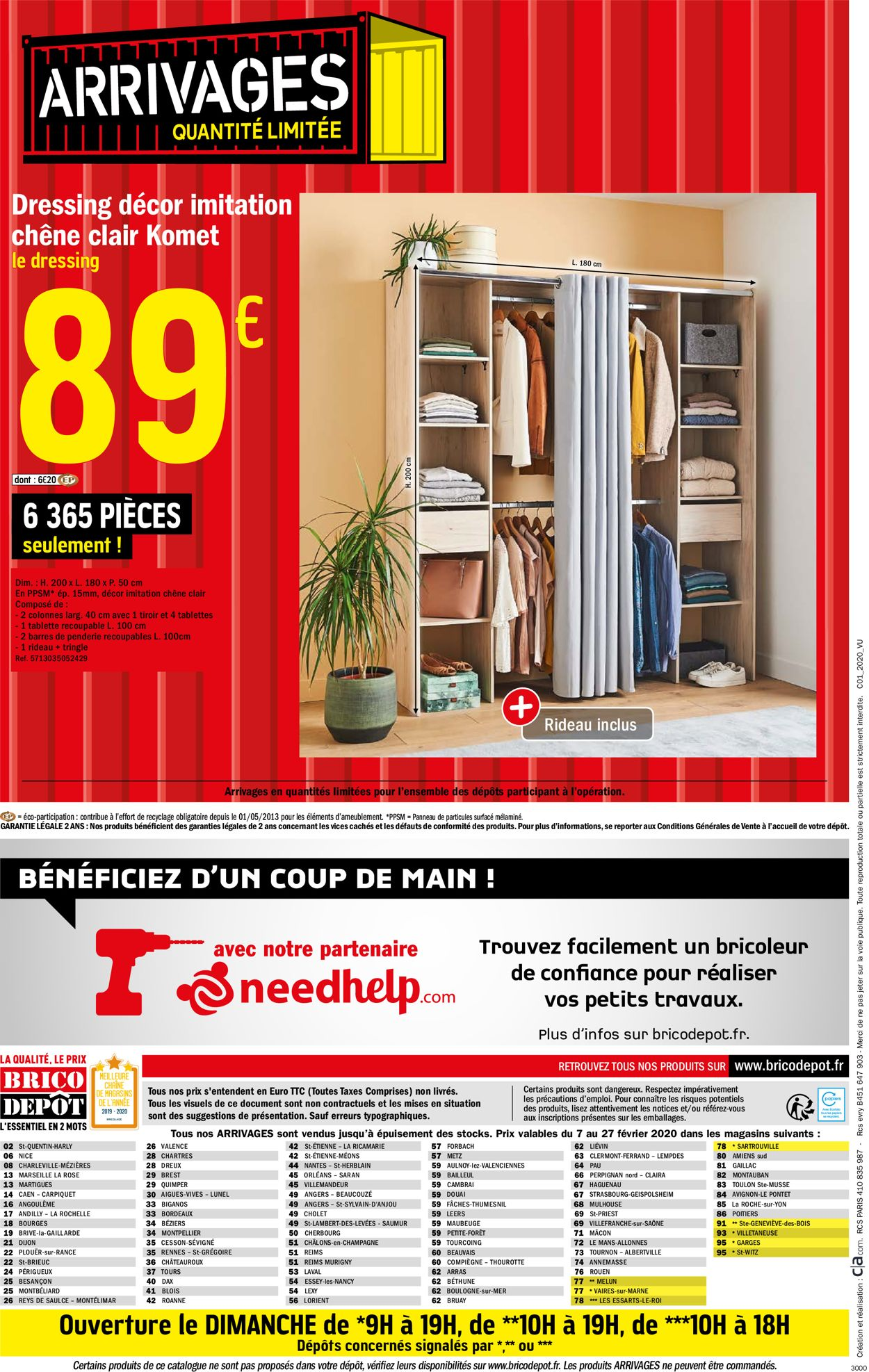 Brico Dépôt Catalogue - 07.02-27.02.2020 (Page 28)