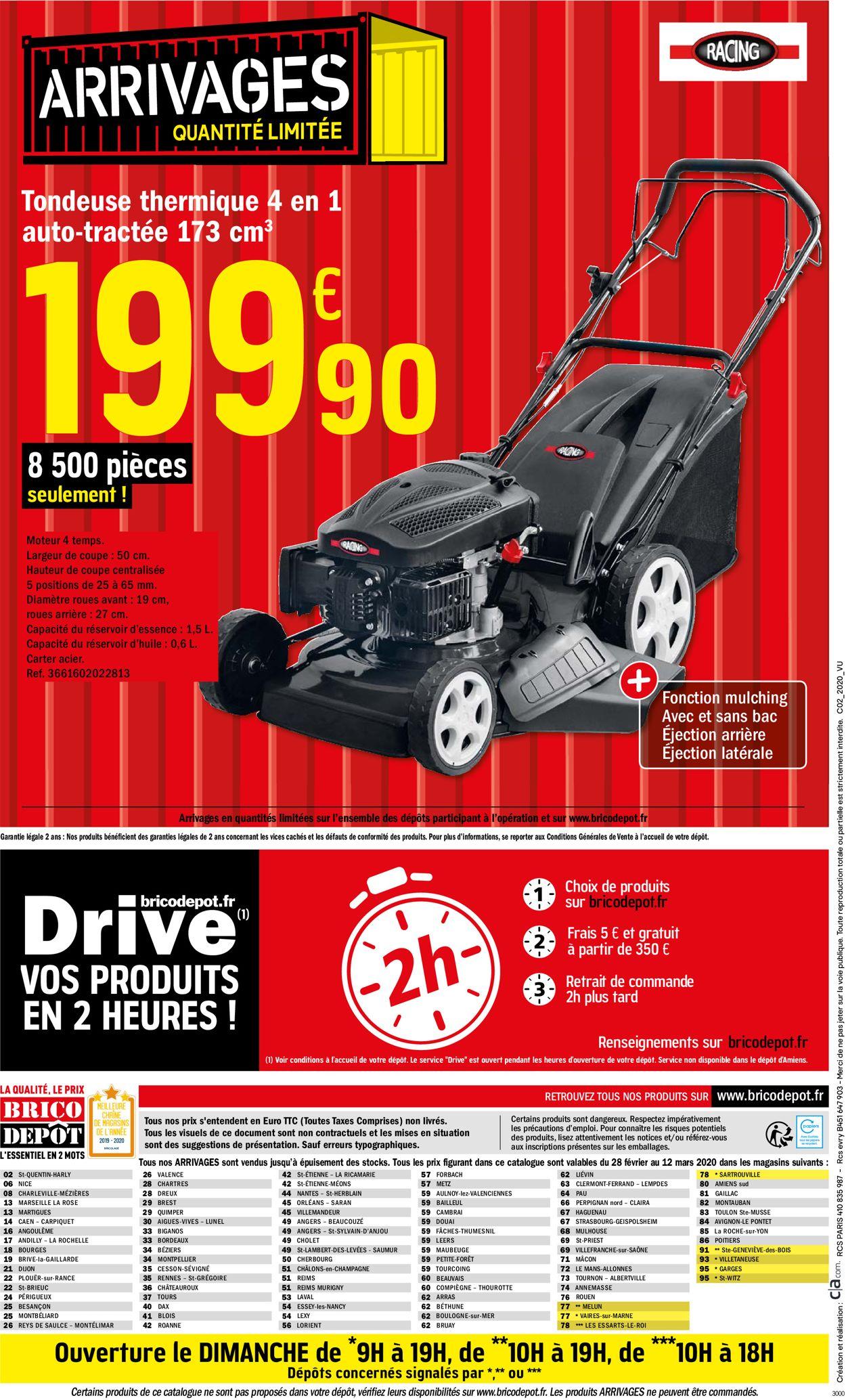 Brico Dépôt Catalogue - 28.02-18.03.2020 (Page 16)