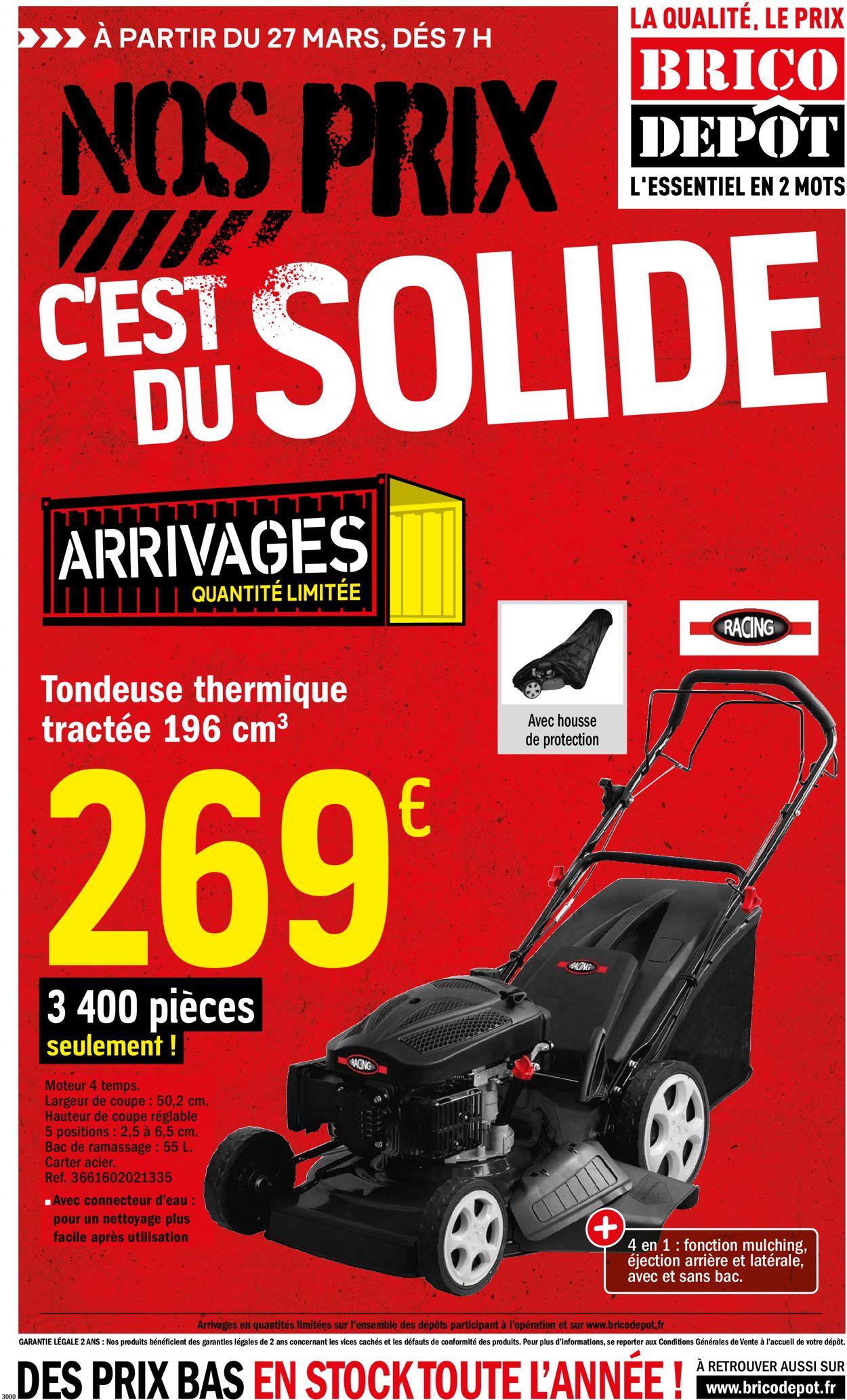 Brico Dépôt Catalogue - 27.03-14.04.2020