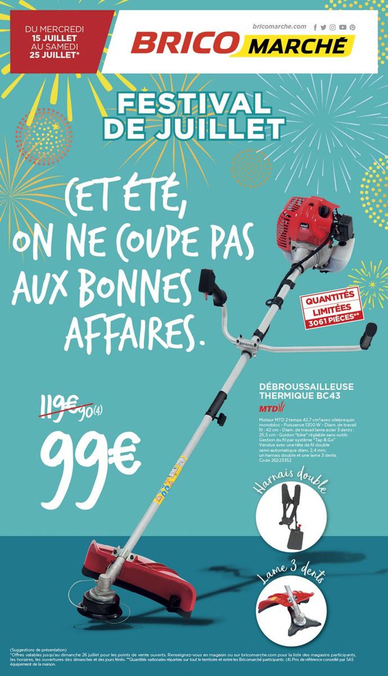 Bricomarché Catalogue - 15.07-25.07.2020