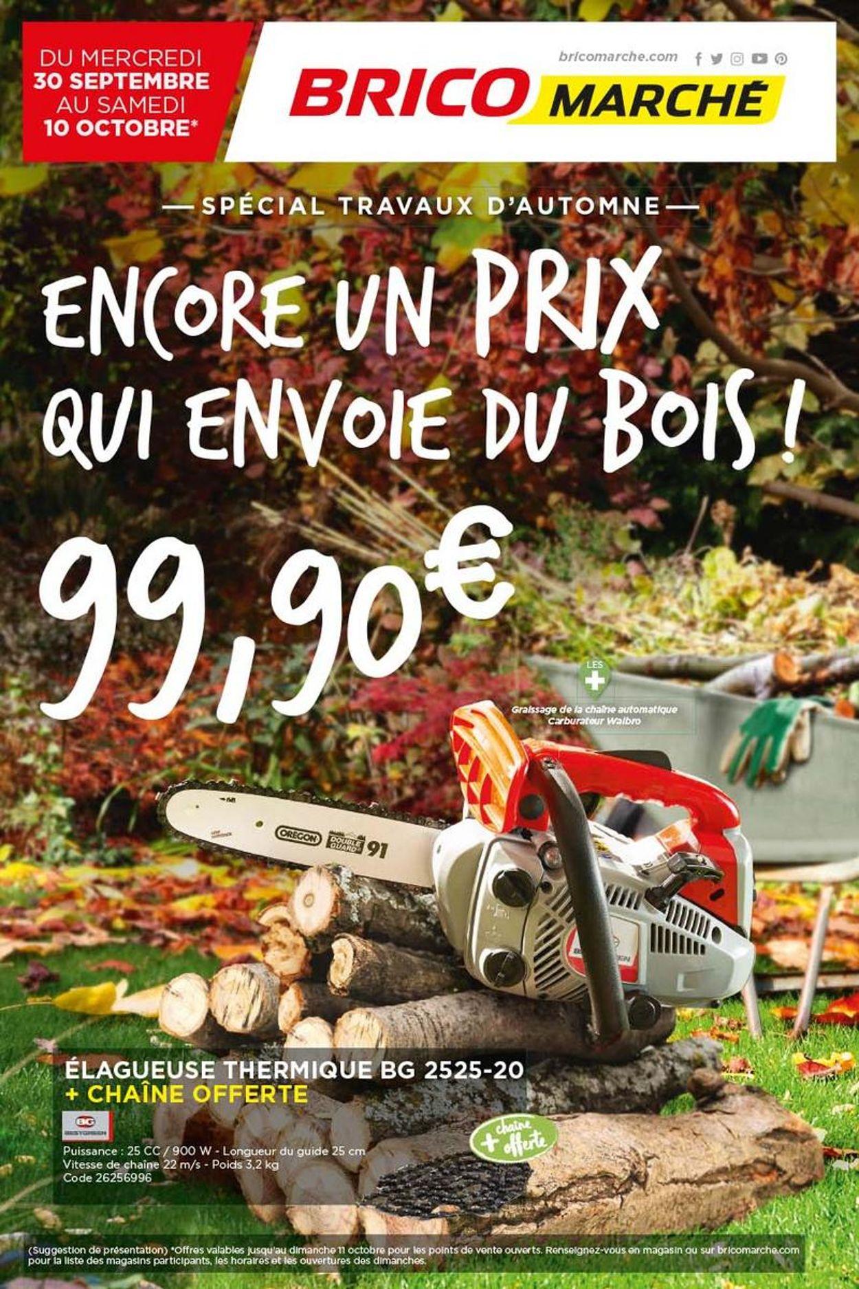 Bricomarché Catalogue - 30.09-10.10.2020