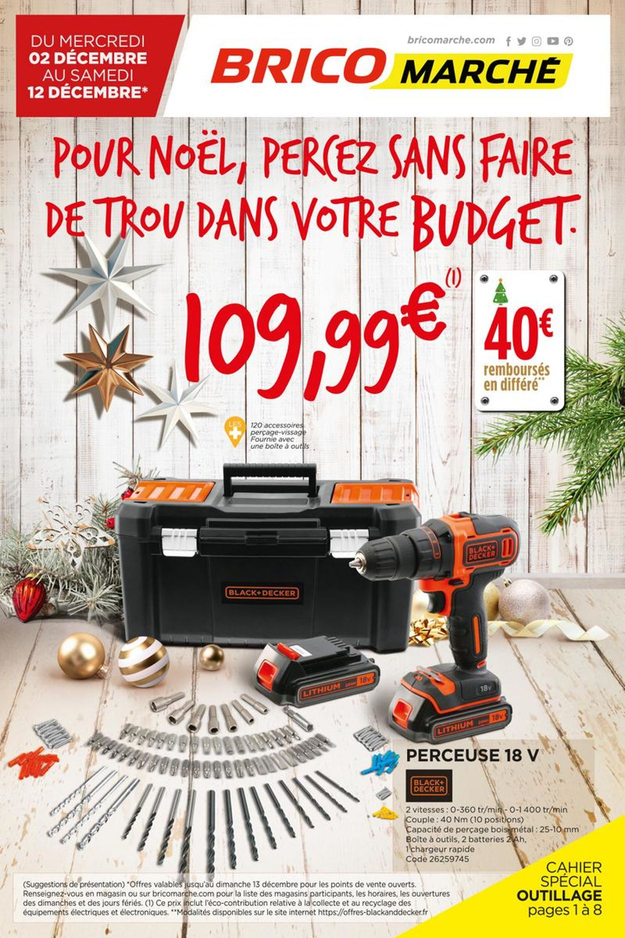 Bricomarché Noel 2020 Catalogue - 02.12-12.12.2020