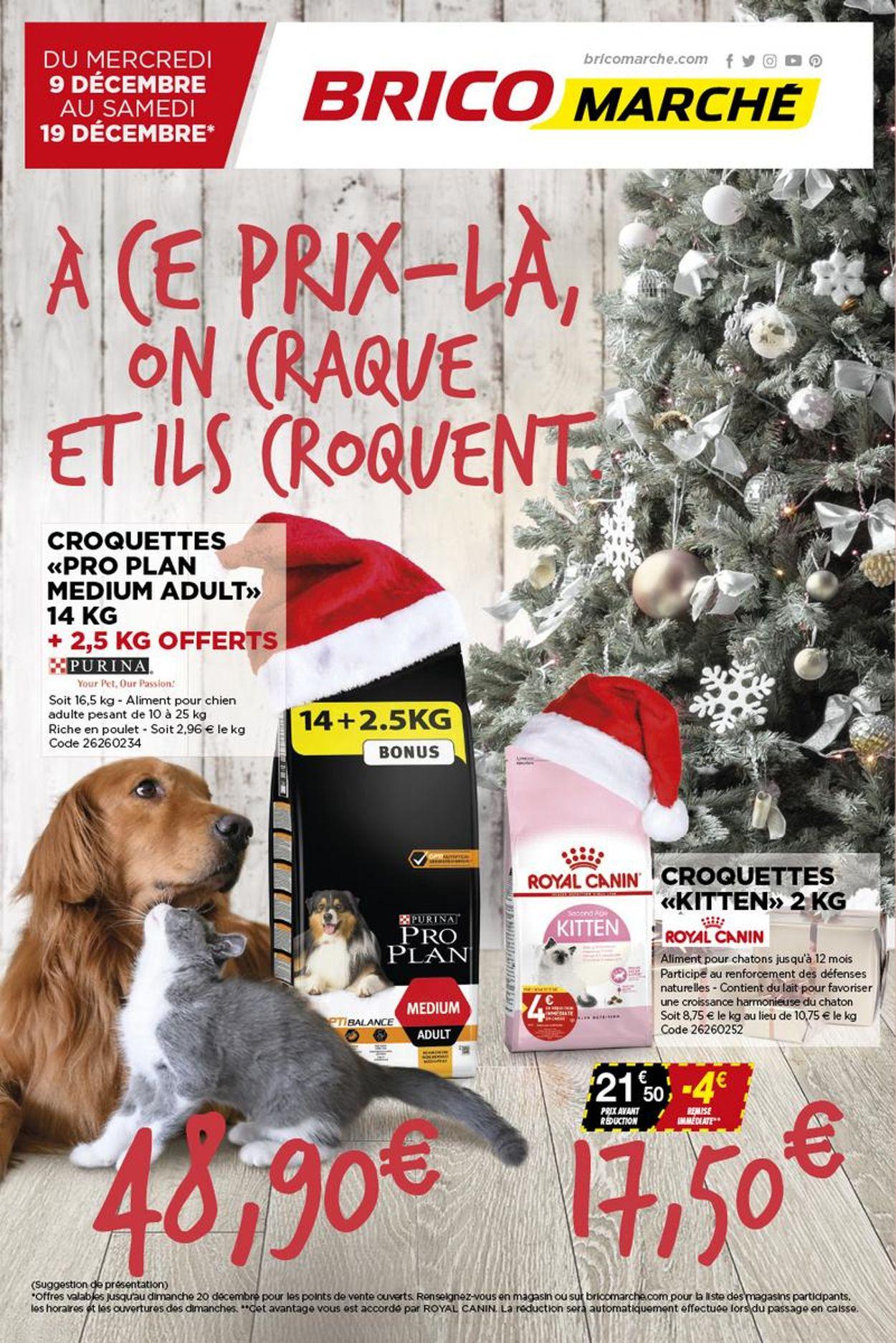 Bricomarché Catalogue - 09.12-19.12.2020