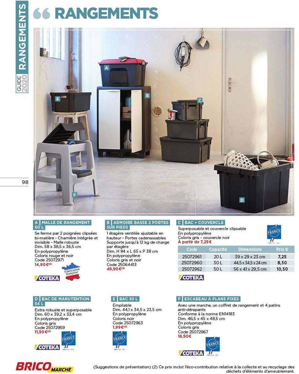 Bricomarché Catalogue - 05.02-28.03.2020 (Page 98)