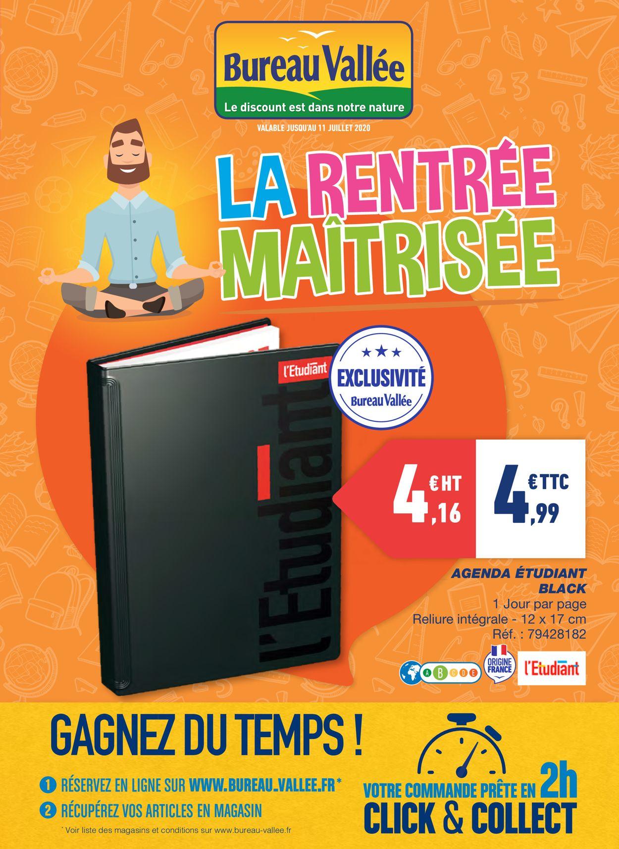 Bureau Vallée Catalogue - 28.06-11.07.2020