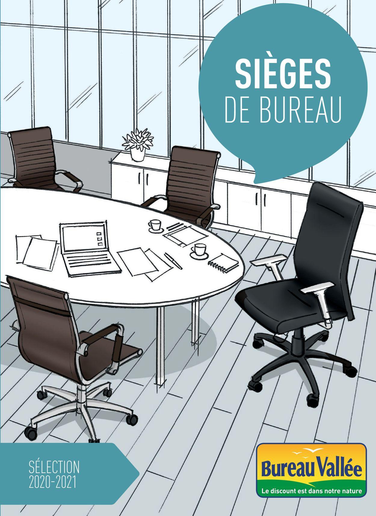 Bureau Vallée Sièges de Bureau 2021 Catalogue - 31.12-30.06.2021