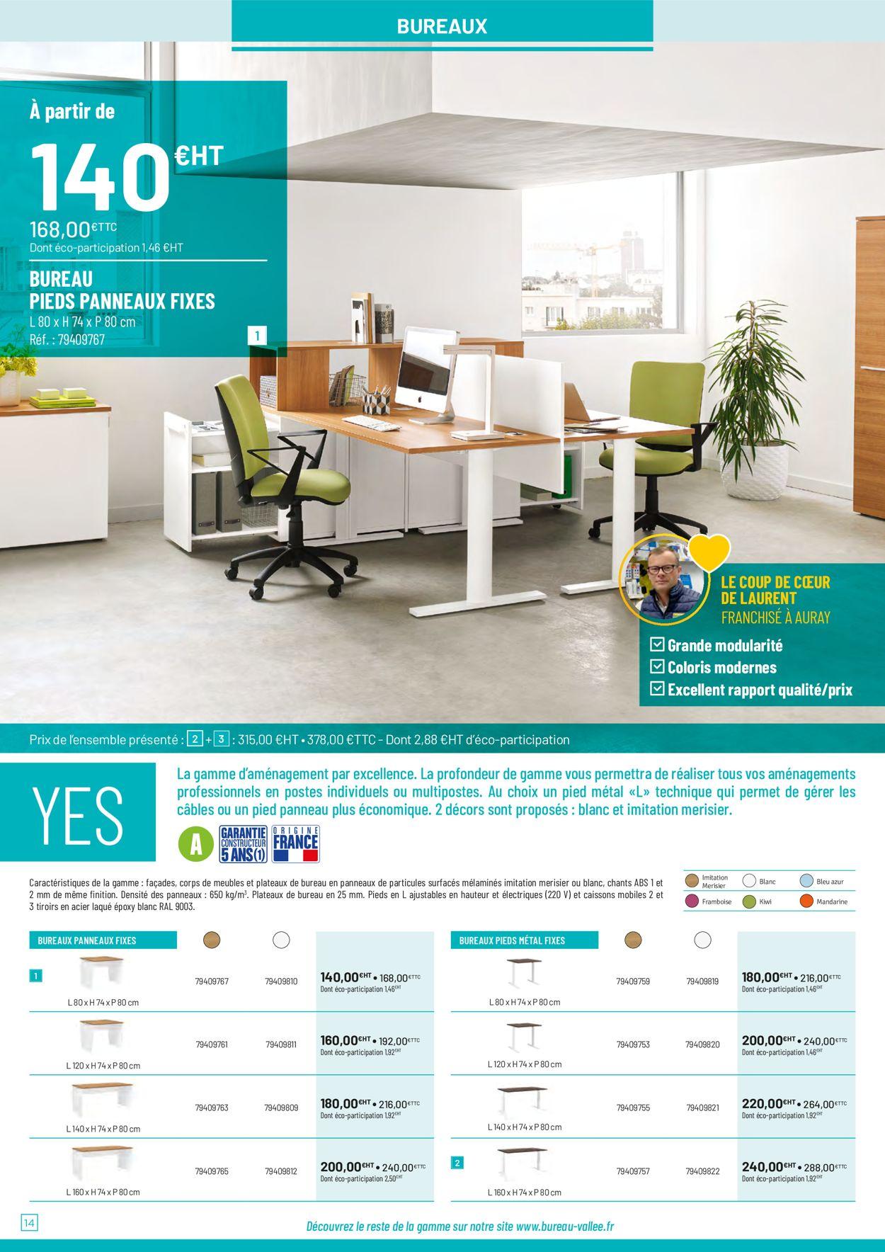 Bureau Vallée Catalogue - 29.08-31.07.2020 (Page 14)