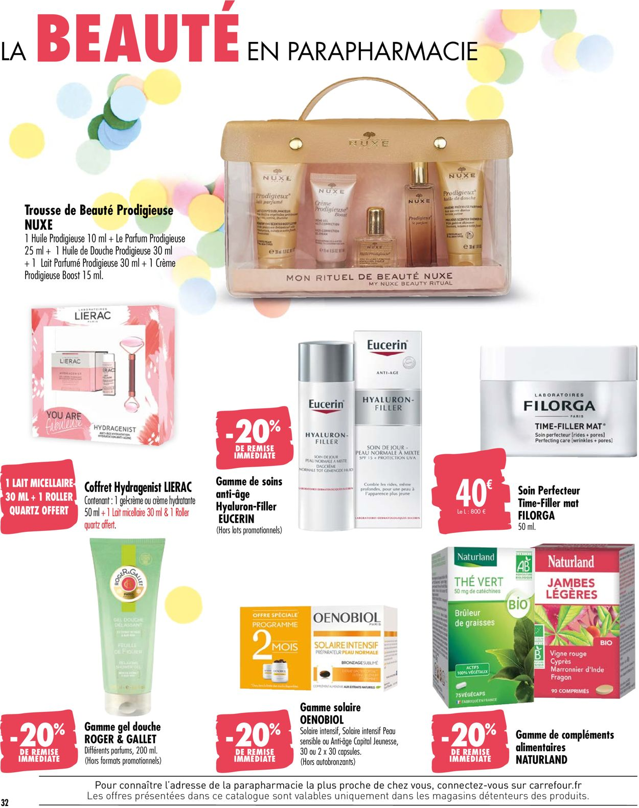 Carrefour Catalogue - 26.05-07.06.2020 (Page 32)