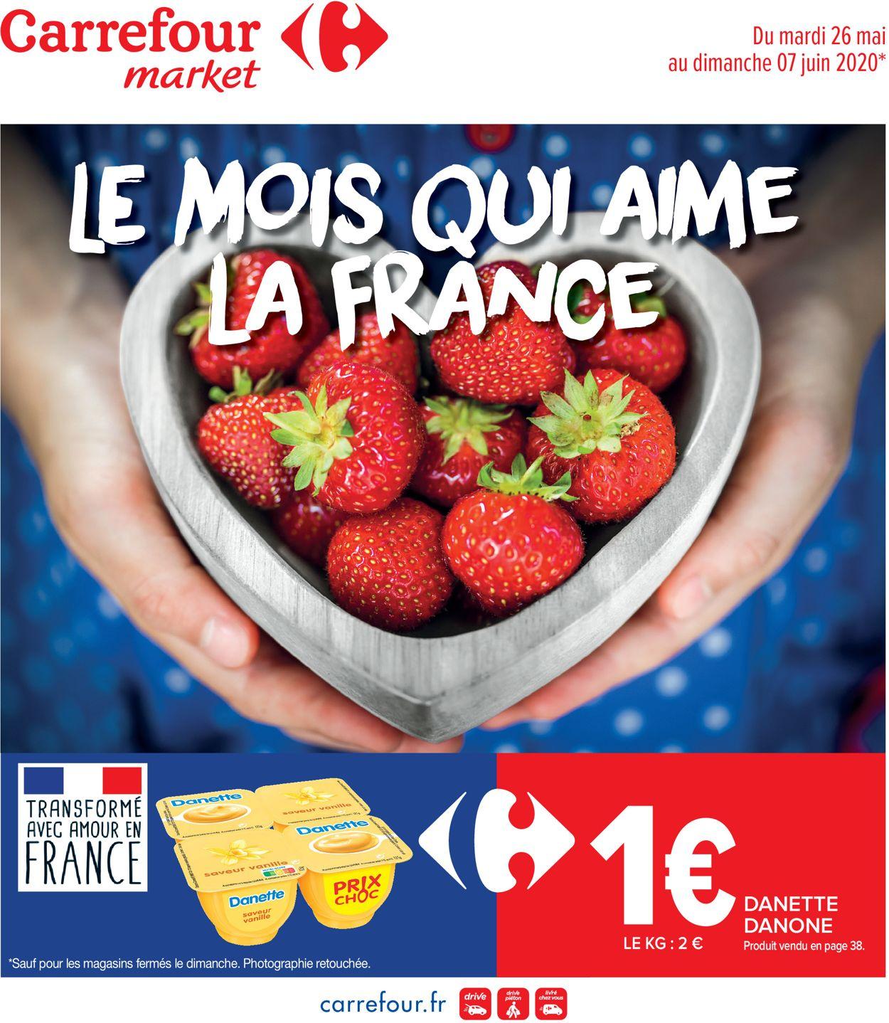 Carrefour Catalogue - 26.05-07.06.2020