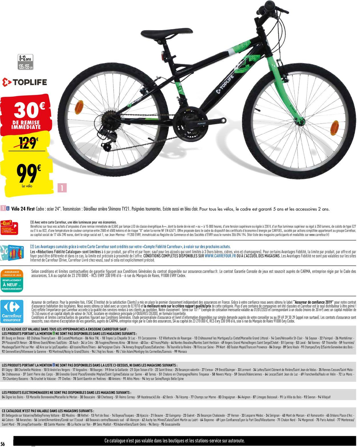 Carrefour Catalogue - 09.06-29.06.2020 (Page 56)