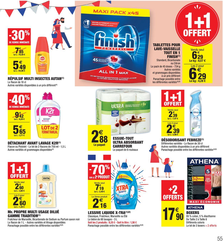 Carrefour Catalogue - 09.06-21.06.2020 (Page 55)