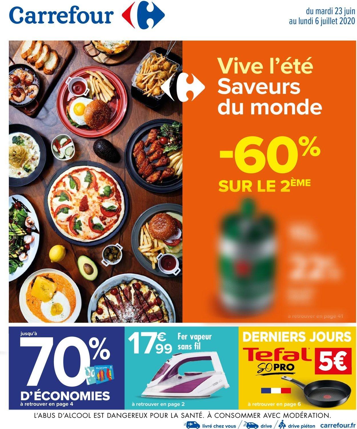 Carrefour Catalogue - 23.06-06.07.2020