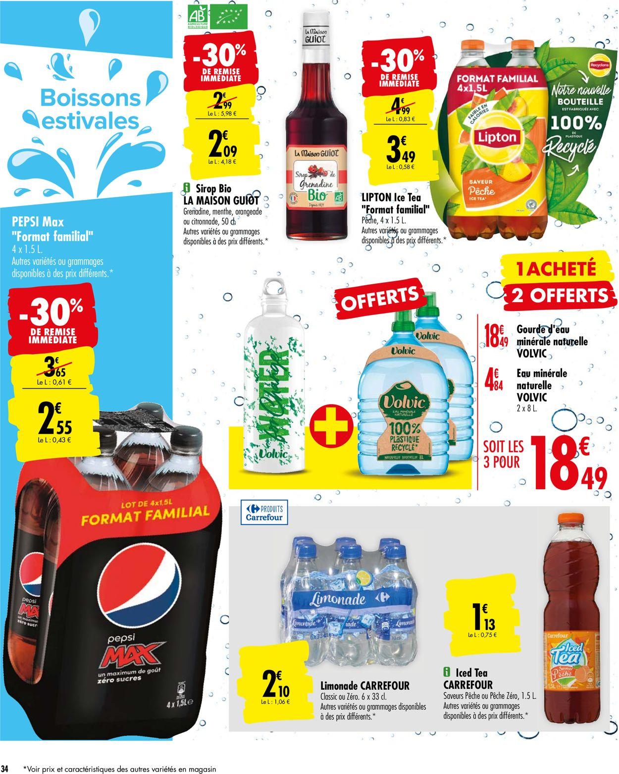 Carrefour Catalogue - 21.07-27.07.2020 (Page 34)