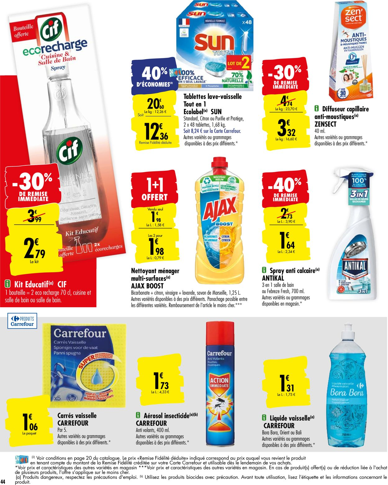 Carrefour Catalogue - 21.07-27.07.2020 (Page 44)