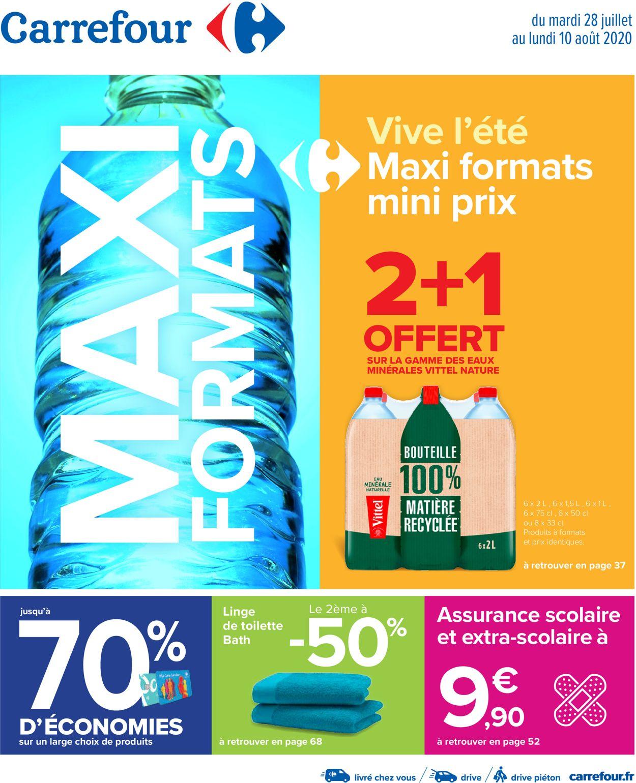 Carrefour Catalogue - 28.07-10.08.2020