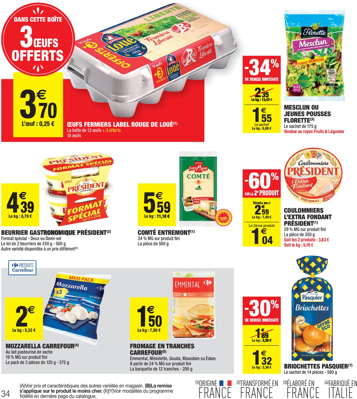 Carrefour Catalogue - 28.07-09.08.2020 (Page 34)