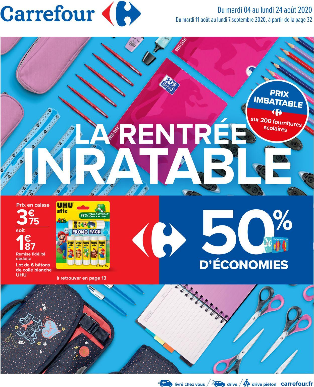 Carrefour Catalogue - 04.08-07.09.2020