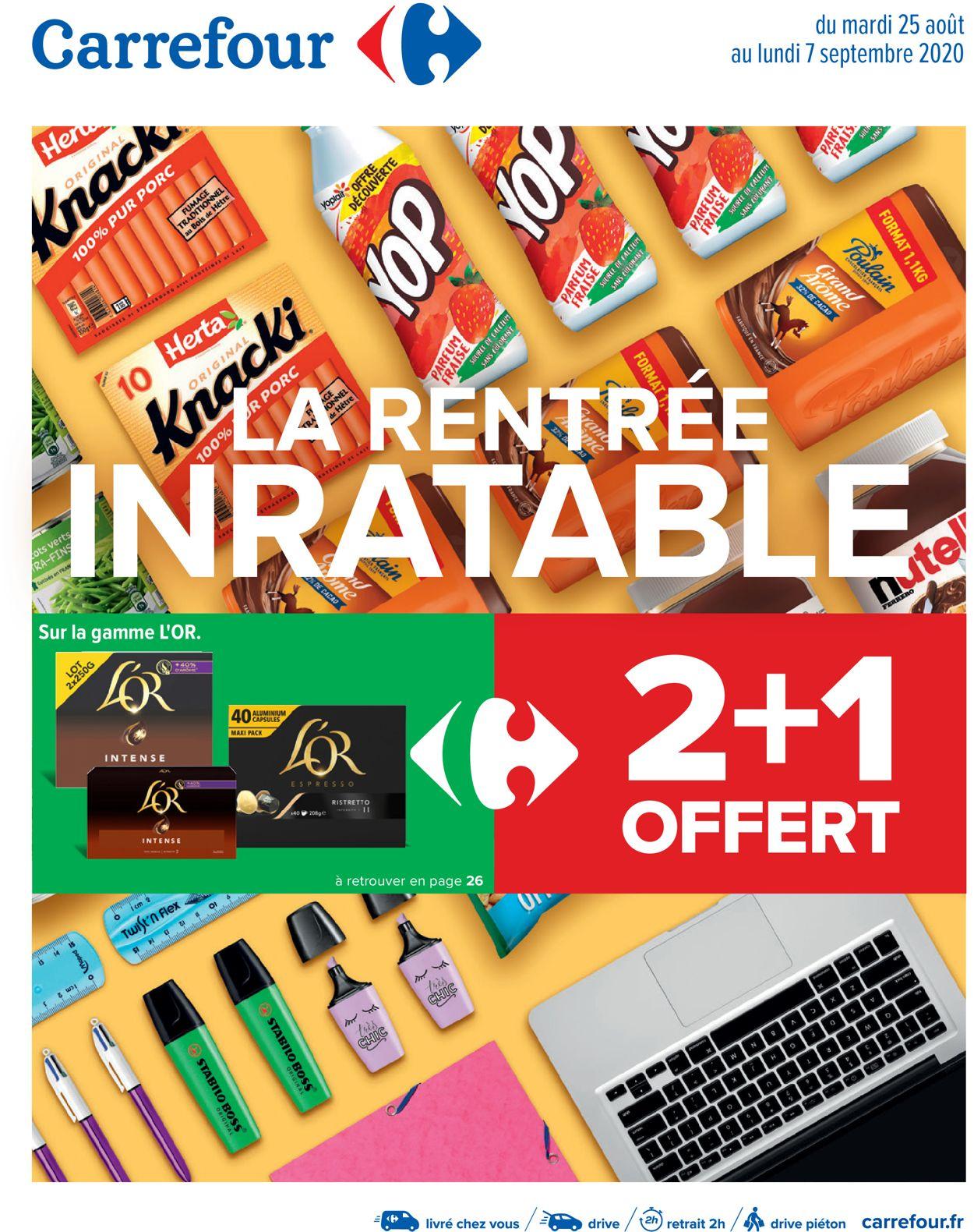 Carrefour Catalogue - 25.08-07.09.2020