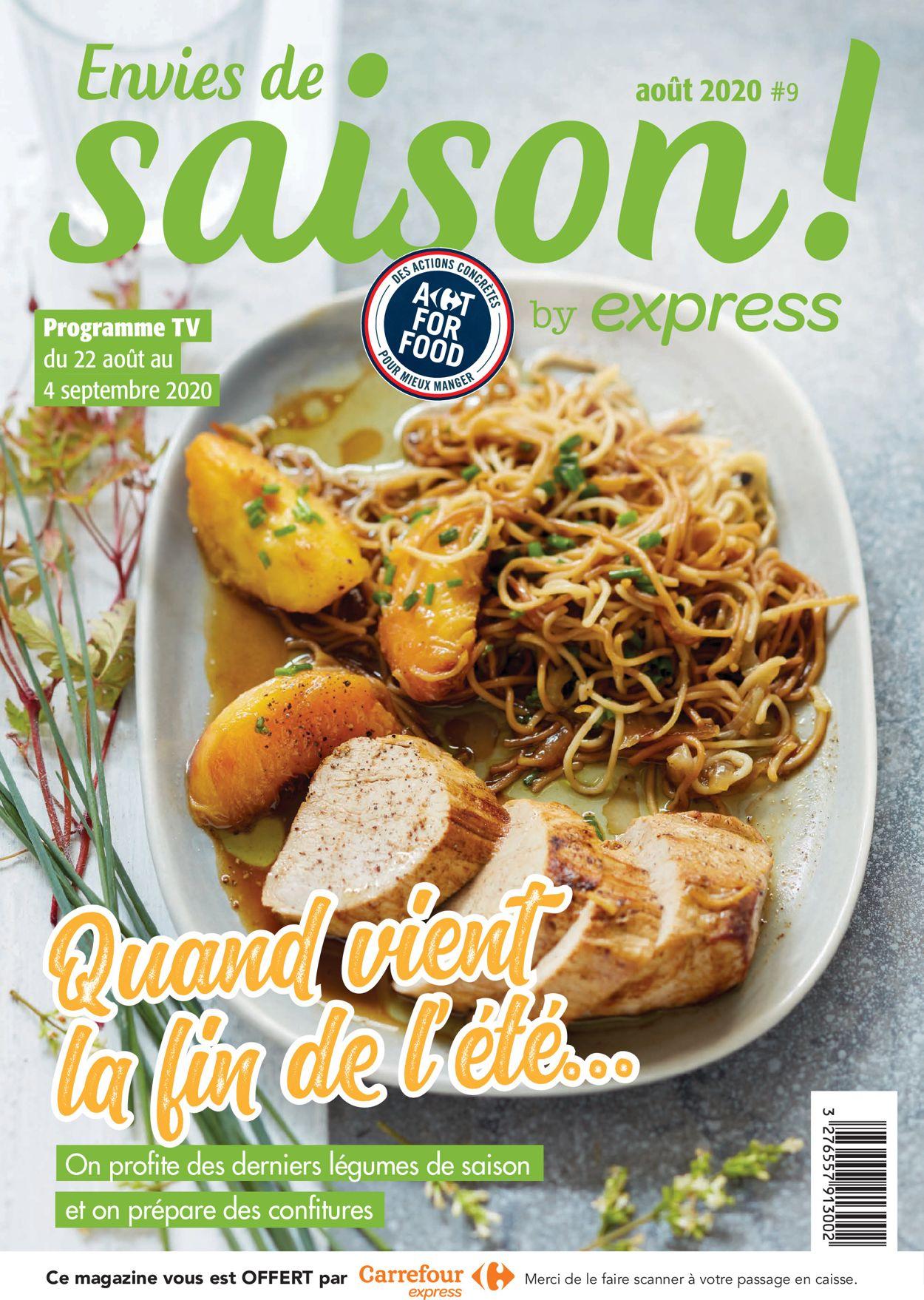 Carrefour Catalogue - 22.08-04.09.2020