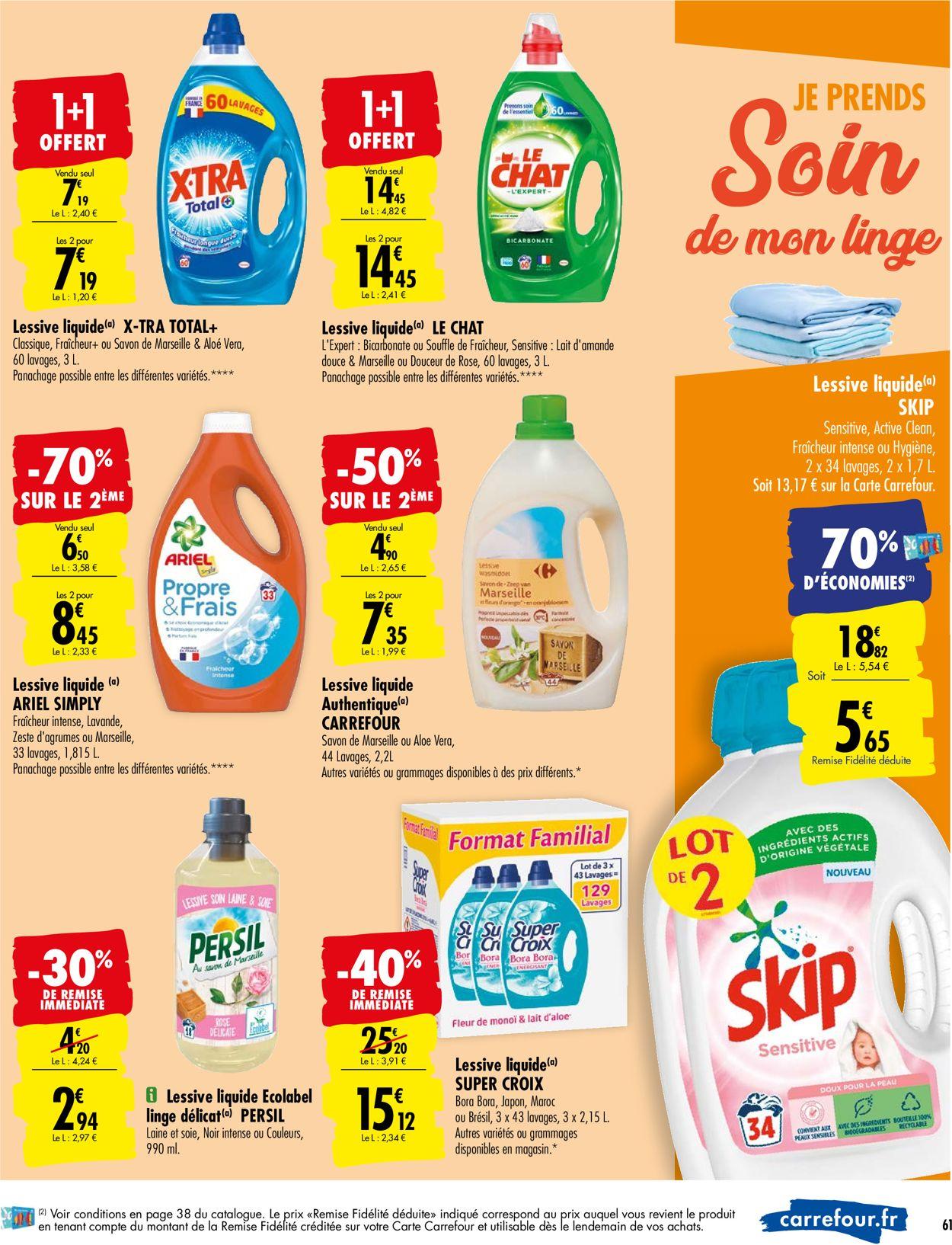 Carrefour Catalogue - 08.09-20.09.2020 (Page 63)