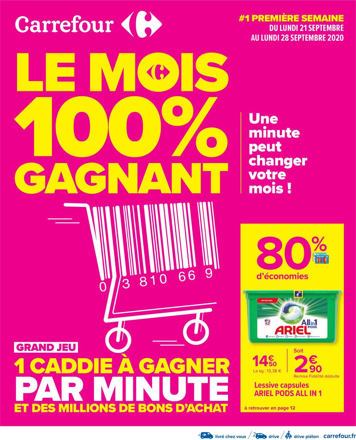 Carrefour Catalogue - 21.09-05.10.2020