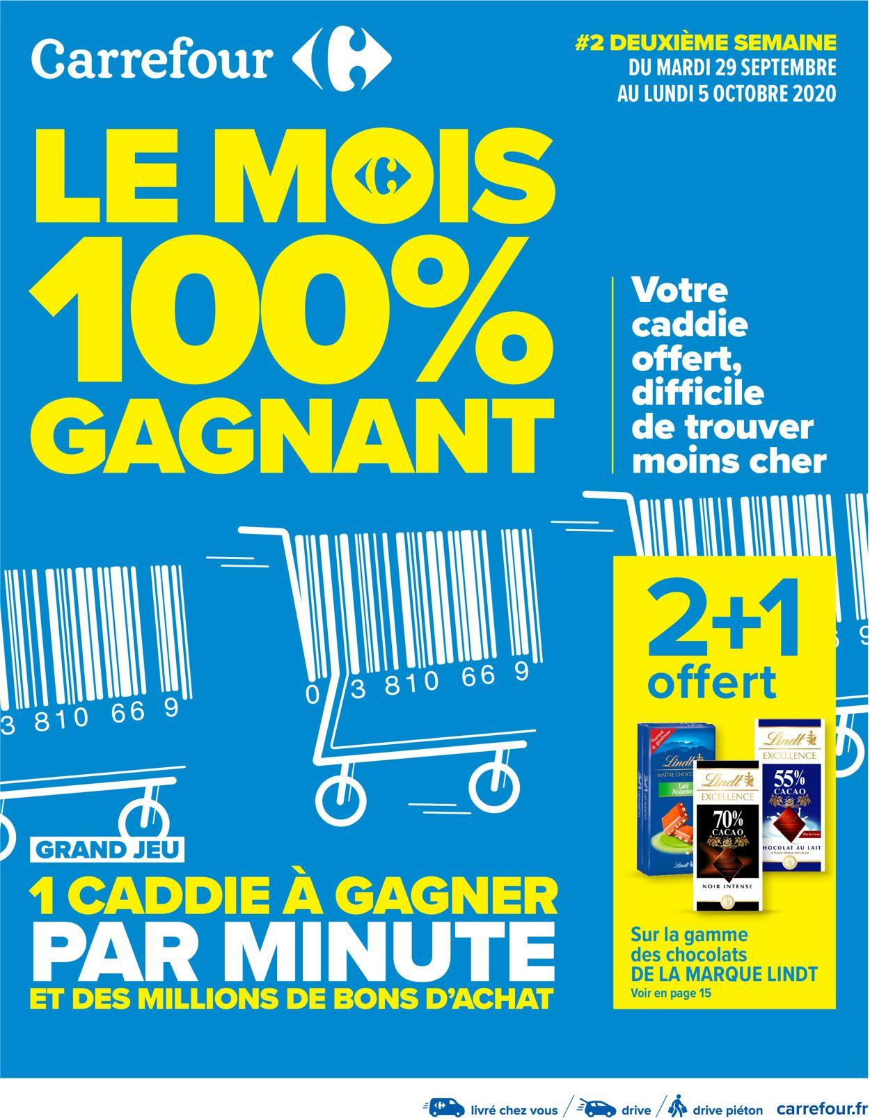 Carrefour Catalogue - 29.09-05.10.2020