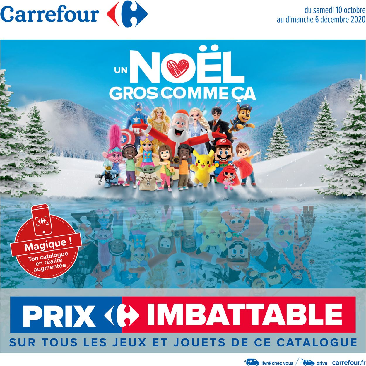 Carrefour Noel 2020 Catalogue - 10.10-06.12.2020
