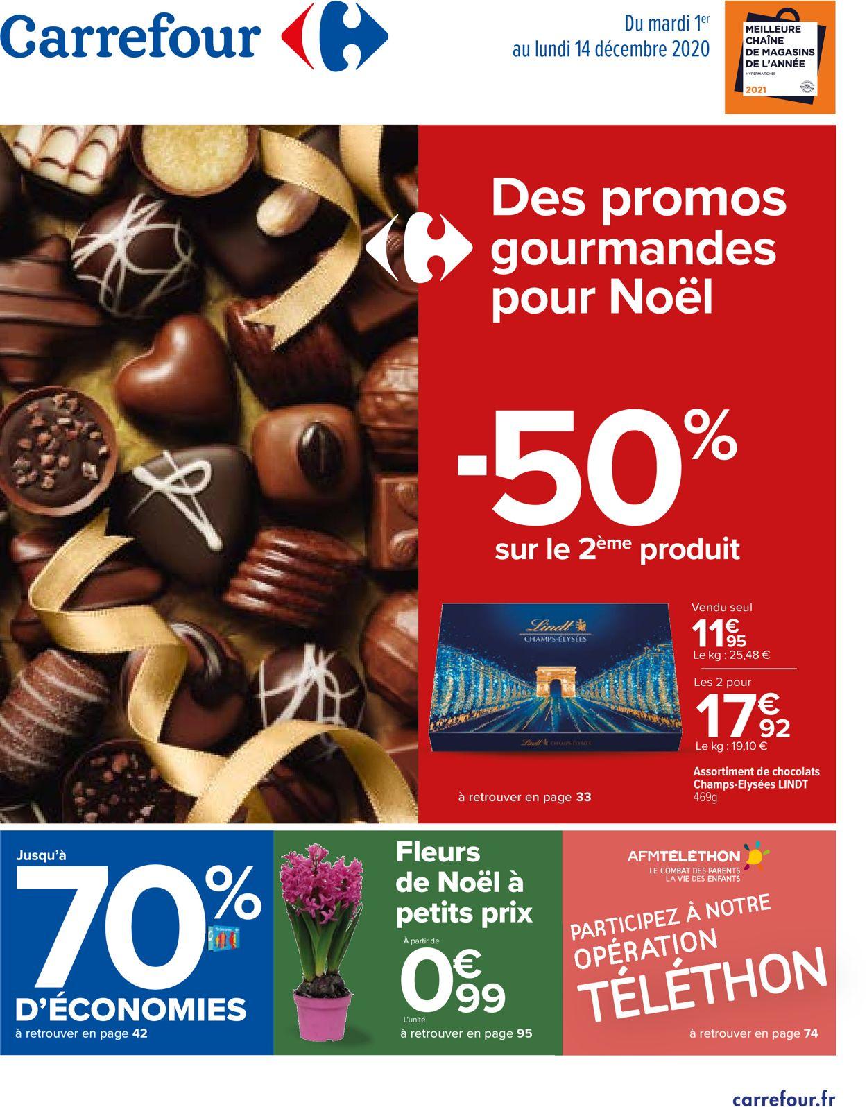 Carrefour Catalogue - 01.12-14.12.2020