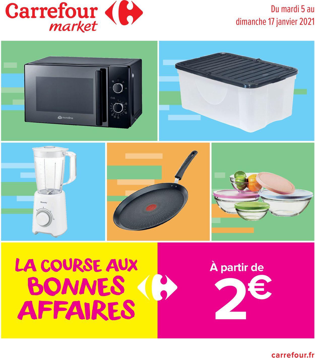 Carrefour Bonnes Affaires 2021 Catalogue - 05.01-17.01.2021