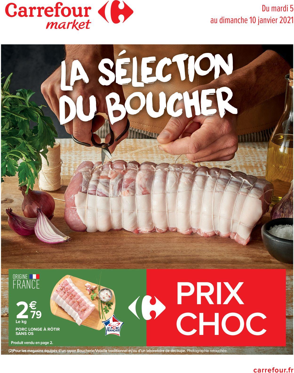 Carrefour La Sélection du Boucher 2021 Catalogue - 05.01-10.01.2021