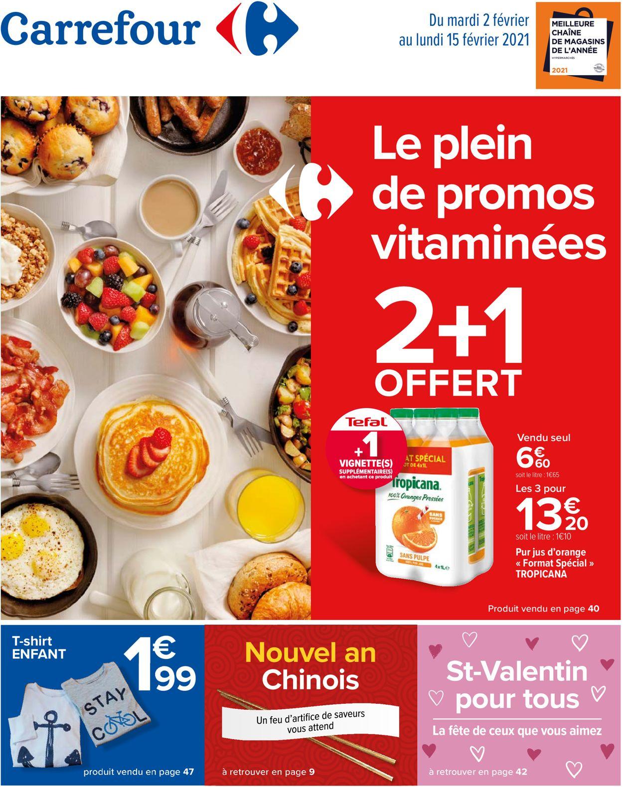 Carrefour Catalogue - 02.02-15.02.2021
