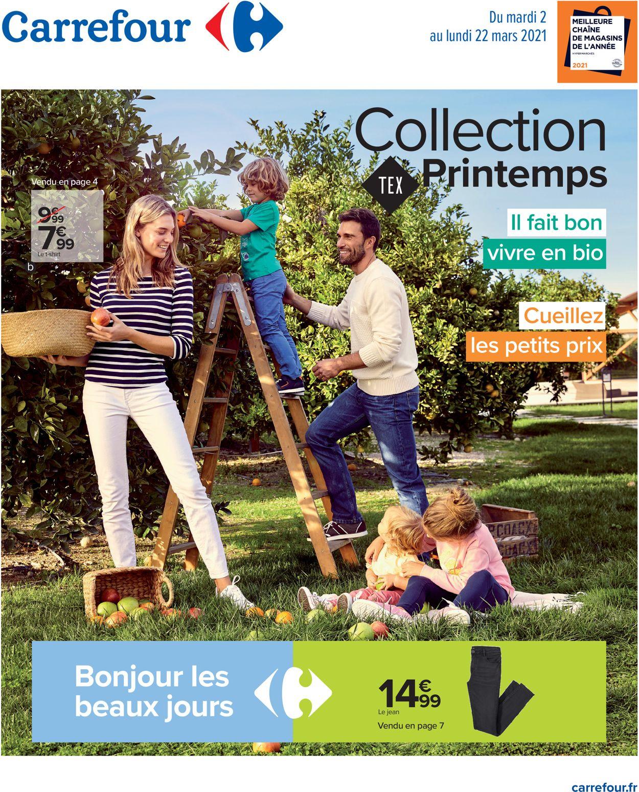Carrefour Catalogue - 02.03-22.03.2021