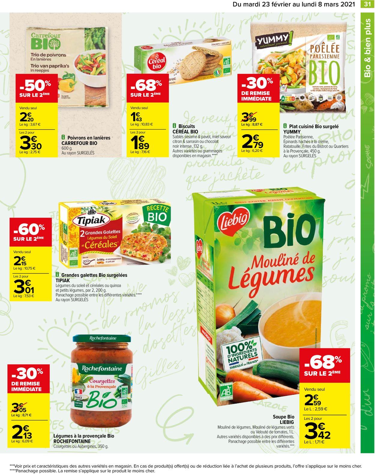 Carrefour Catalogue - 23.02-08.03.2021 (Page 31)