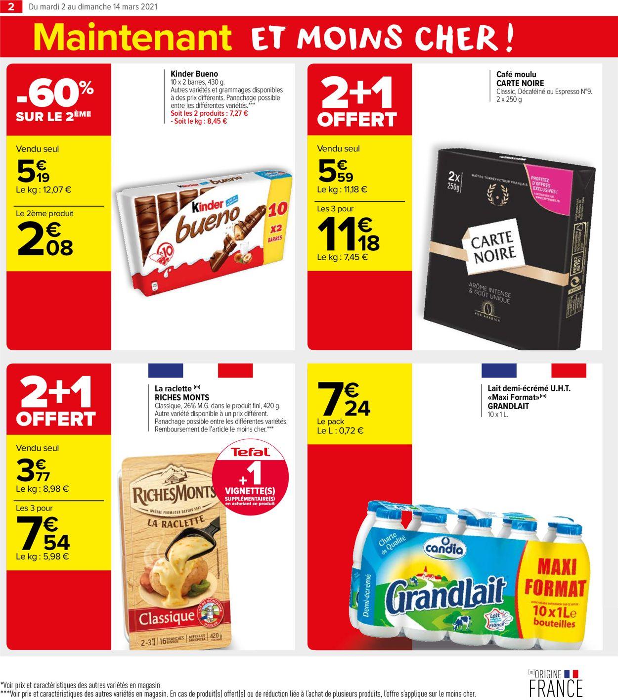 Carrefour Catalogue - 02.03-14.03.2021 (Page 2)