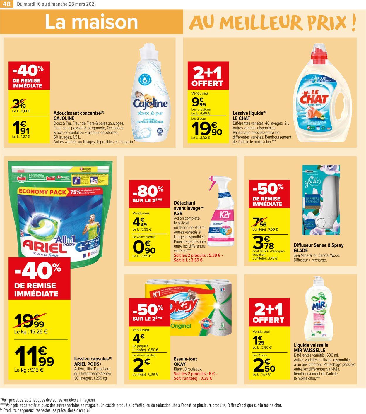 Carrefour Catalogue - 16.03-28.03.2021 (Page 48)