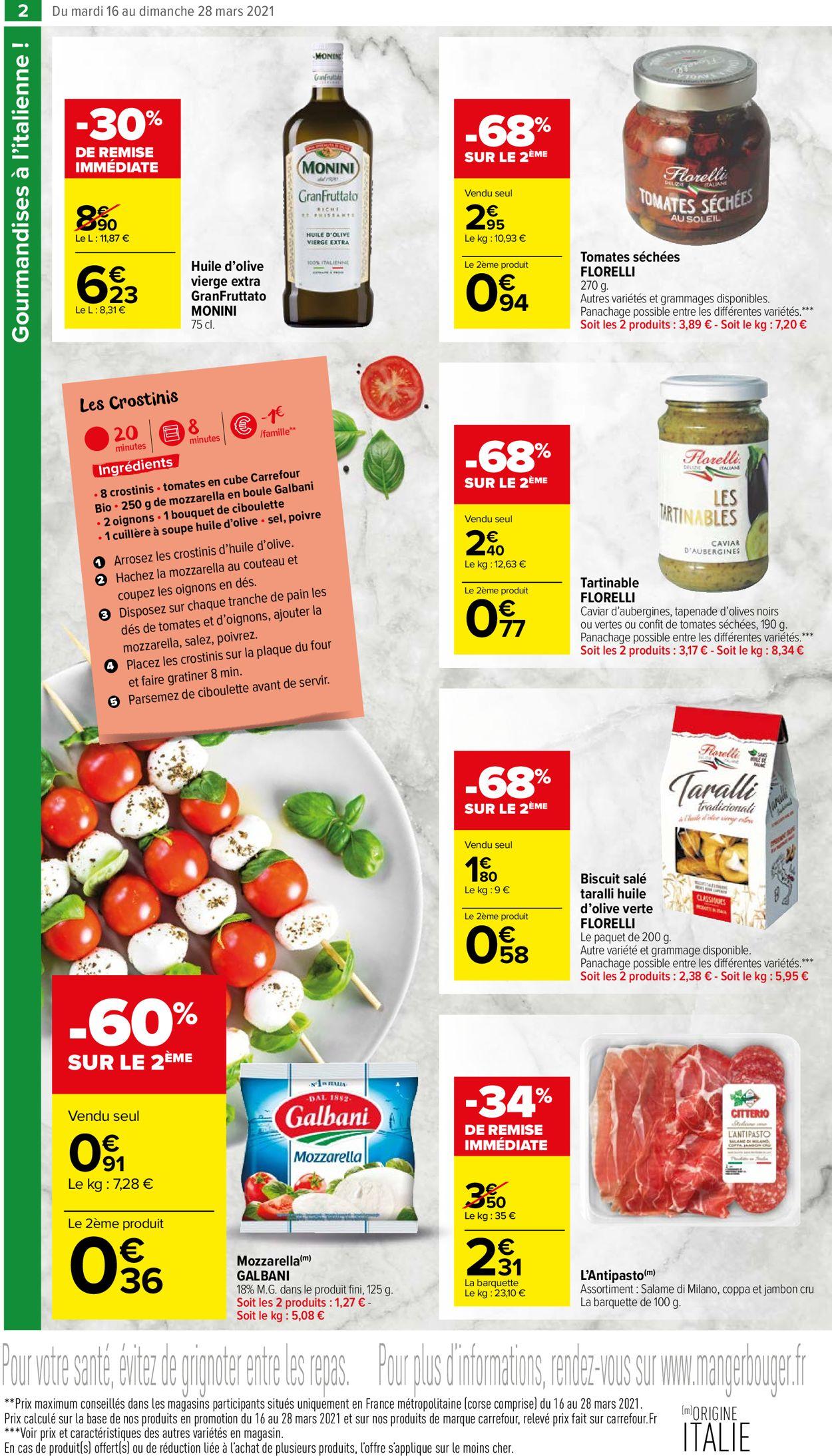 Carrefour Catalogue - 16.03-28.03.2021 (Page 2)