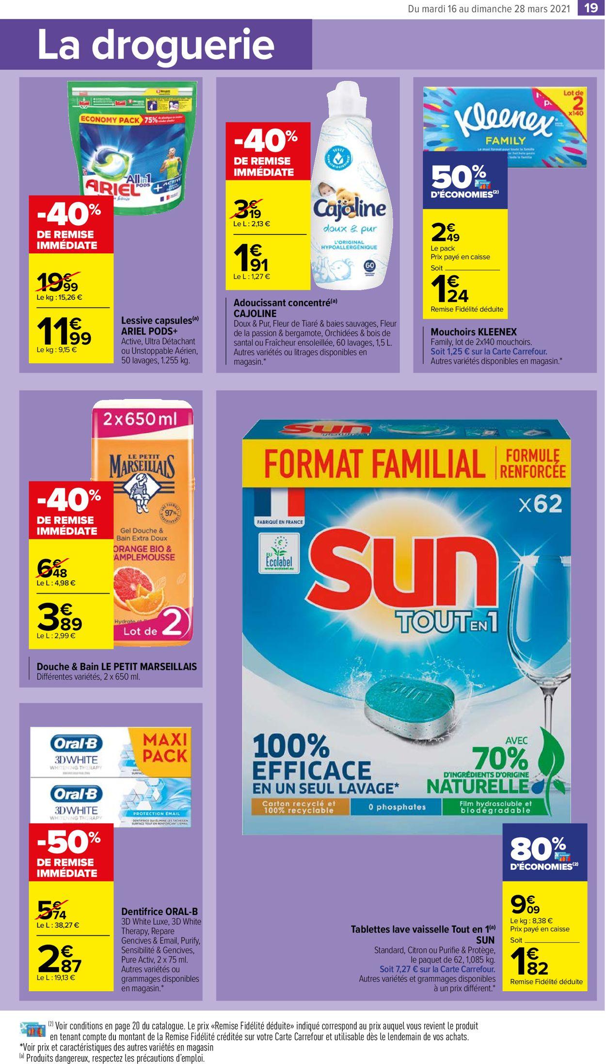 Carrefour Catalogue - 16.03-28.03.2021 (Page 19)