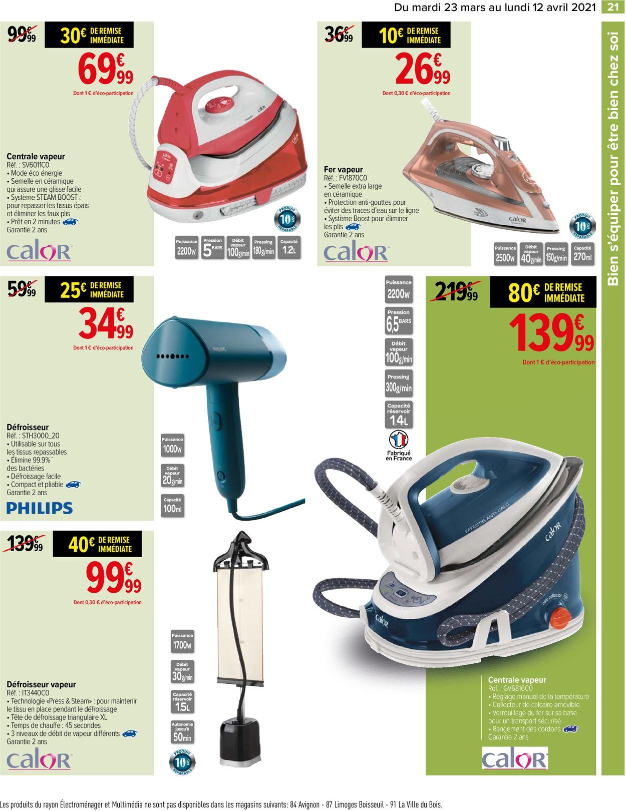Carrefour Catalogue - 23.03-12.04.2021 (Page 21)