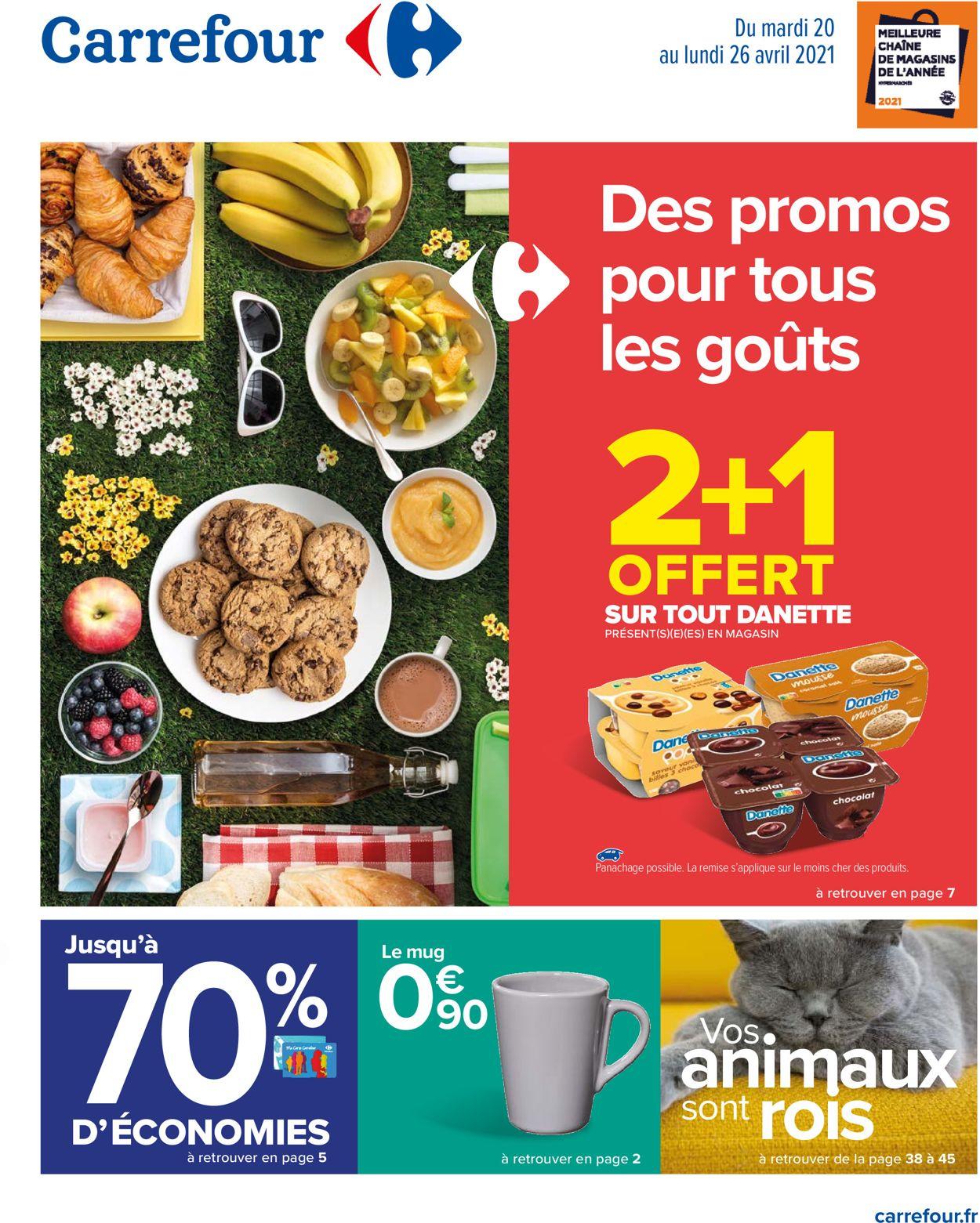 Carrefour Catalogue - 20.04-26.04.2021
