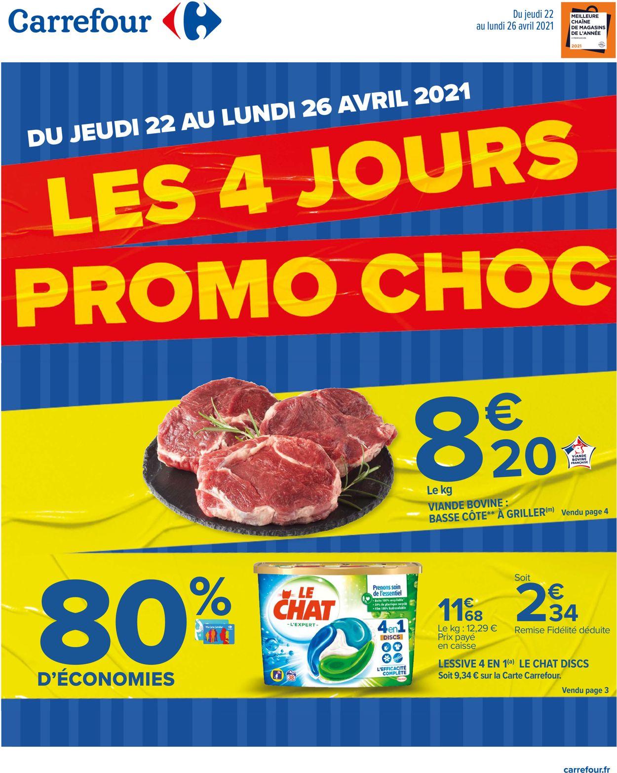 Carrefour Catalogue - 22.04-26.04.2021